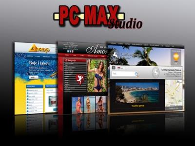Izrada i održavanje web sajtova PCMAX Studio